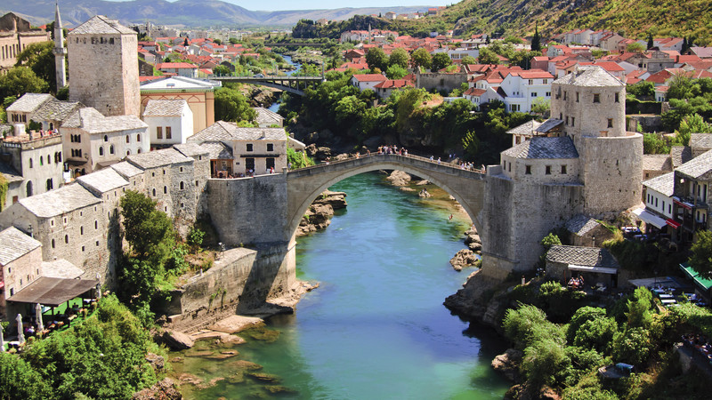 Mostar Bosnia bridge