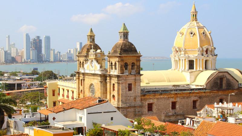 Cartagena church Colombia