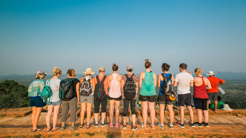 On top of Sigiriya