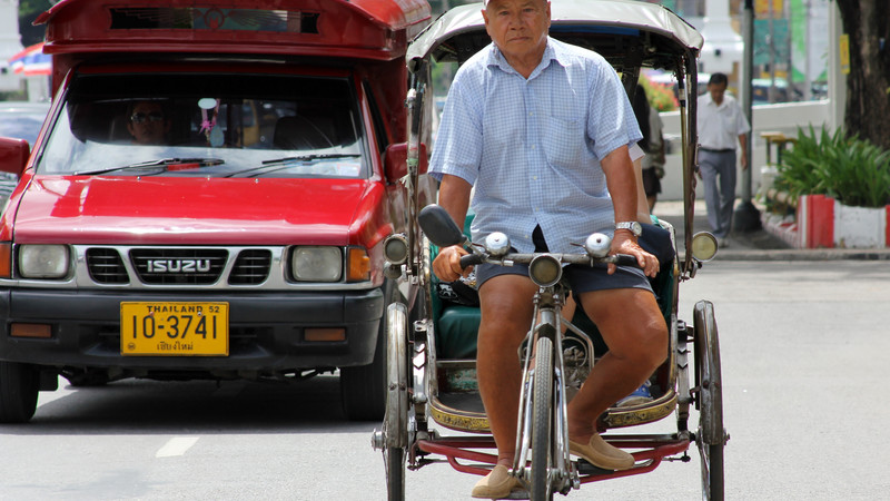 What to do in Chiang Mai rickshaw