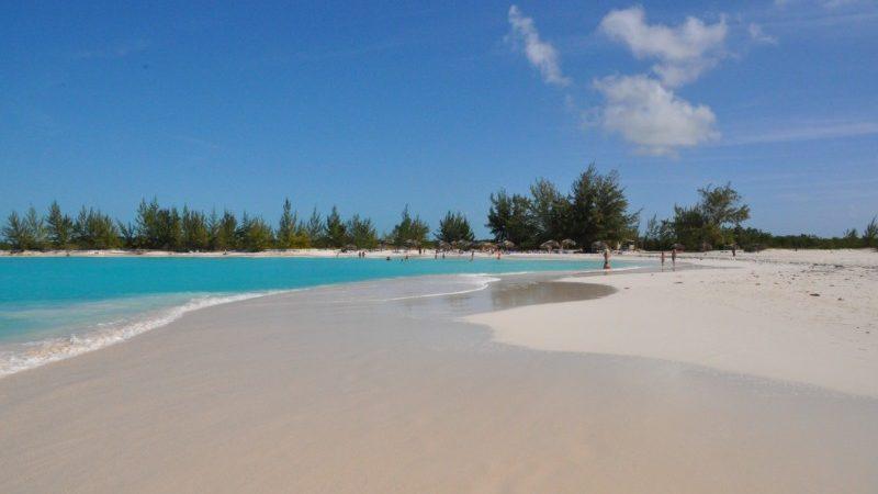 Playa Paraiso beach, Cuba