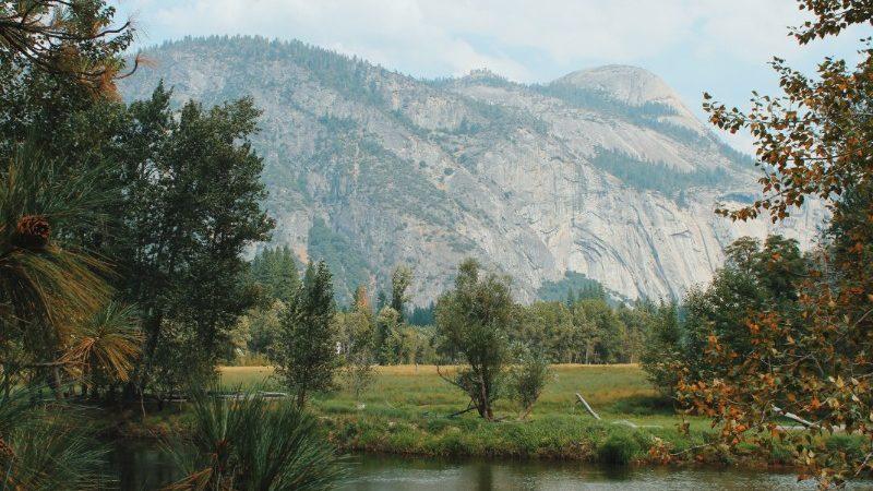 Stunning vistas at Yosemite NP