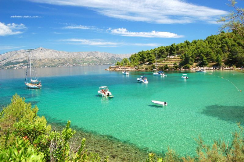 Beach Brac Croatia