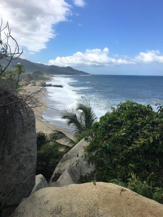 Tayrona National Park Colombia beach