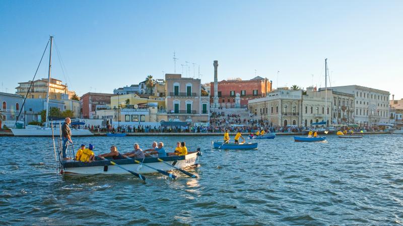 Annual Arca regatta in Brindisi