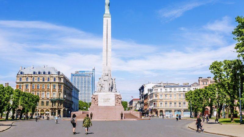 Riga city square