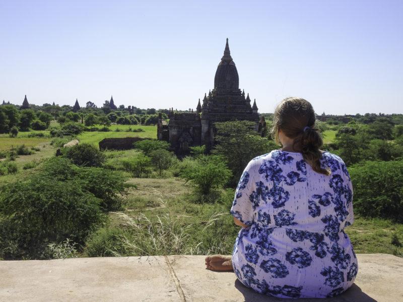 plus size travel Southeast Asia Bagan Myanmar