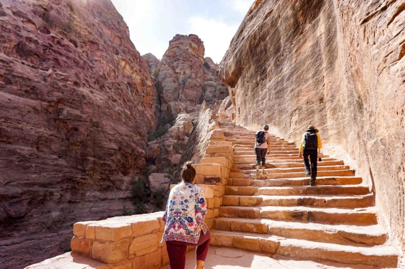 Jordan week guide Petra Treasury Overlook