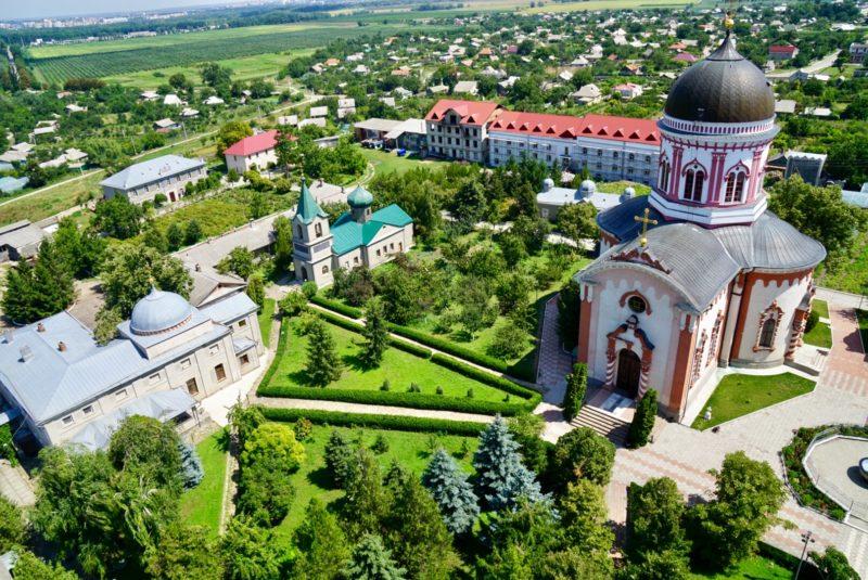 Transnistria travel guide Noul Neamț Monastery