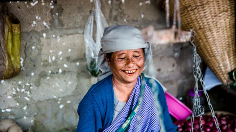 Local Khasi lady
