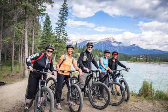 Cycling trip Canada