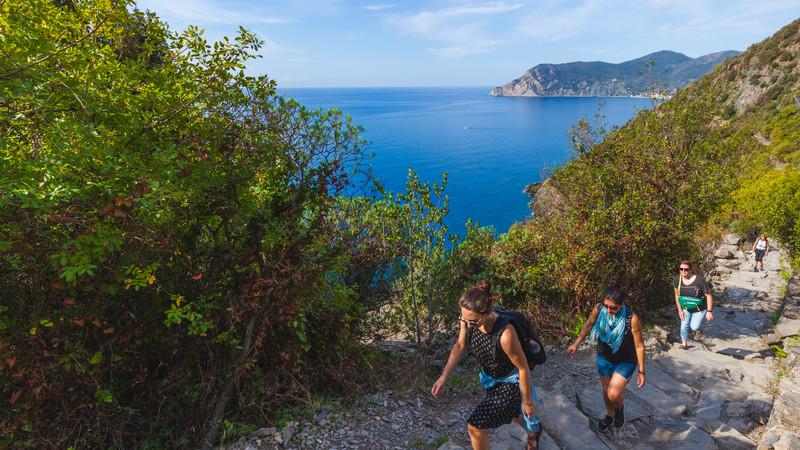 Italy tour Cinque Terre hiking