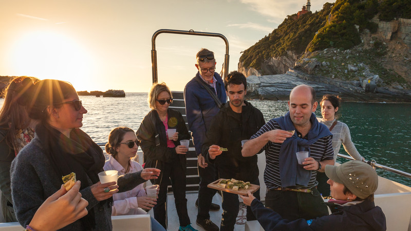 Italy tour Cinque Terre boat trip