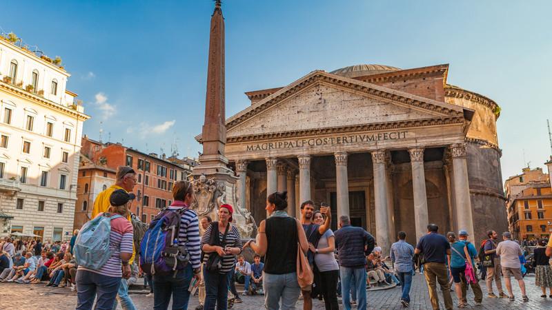 Italy tour Rome Pantheon