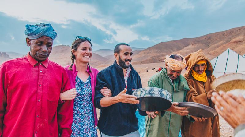 Morocco Atlas Mountains hiking berbers