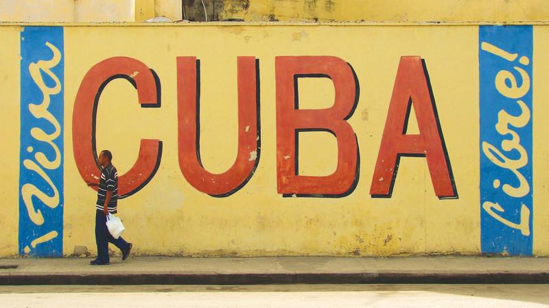 Local street art in Havana