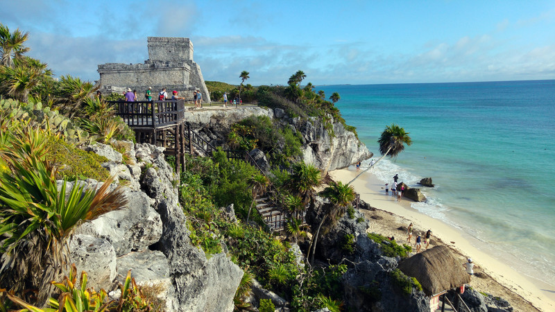 Best Maya ruins Central America Tulum, Mexico