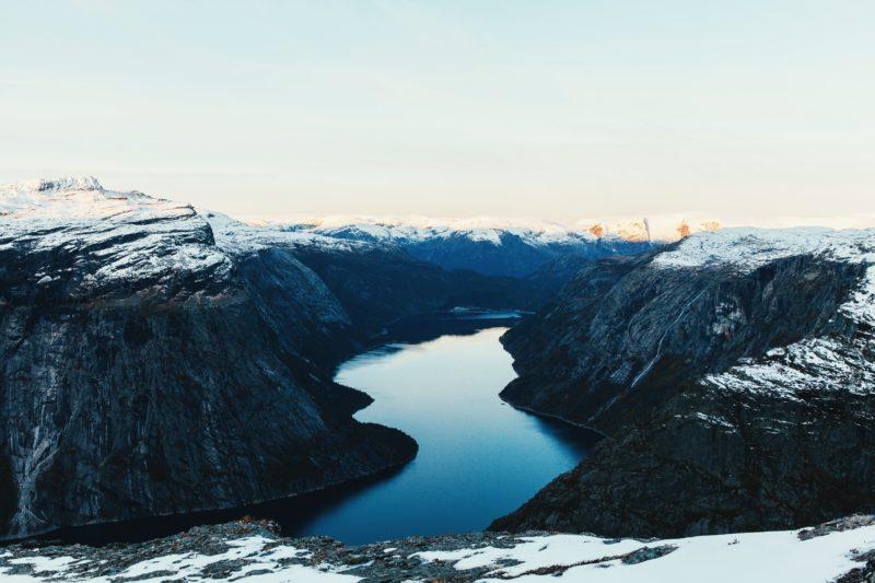 Norway Nature Lake Ringedalsvatnet