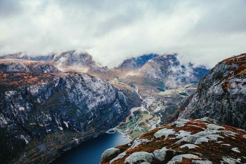 Norway Nature Lysebotn