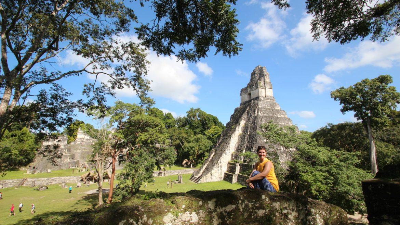 Mayan Ruins Central America Tikal Guatemala