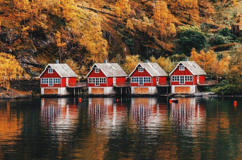 Norway Nature Naeroyfjord