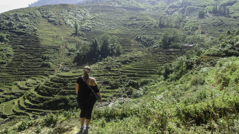 plus size travel Southeast Asia Sapa Vietnam