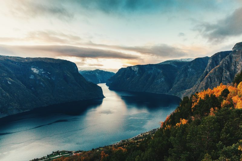 Norway Nature Stegastein viewpoint