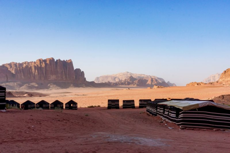 Jordan week guide Wadi Rum desert camp