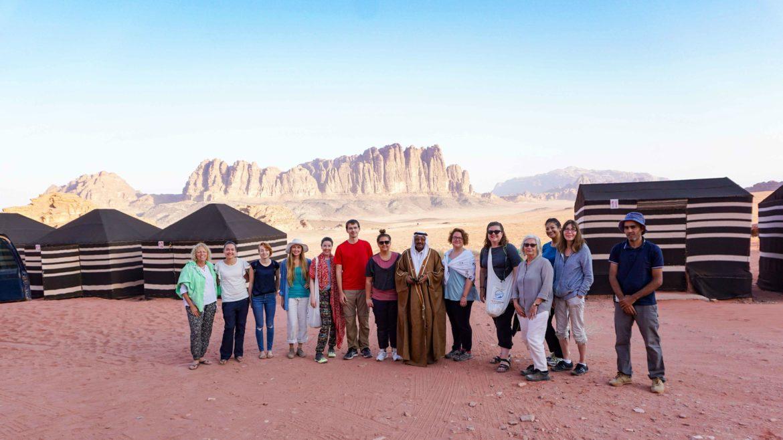 Jordan week guide Intrepid tour Wadi Rum
