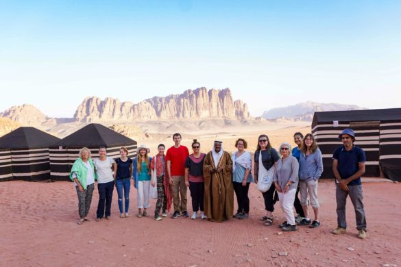 Jordan week guide Intrepid tour Wadi Rum