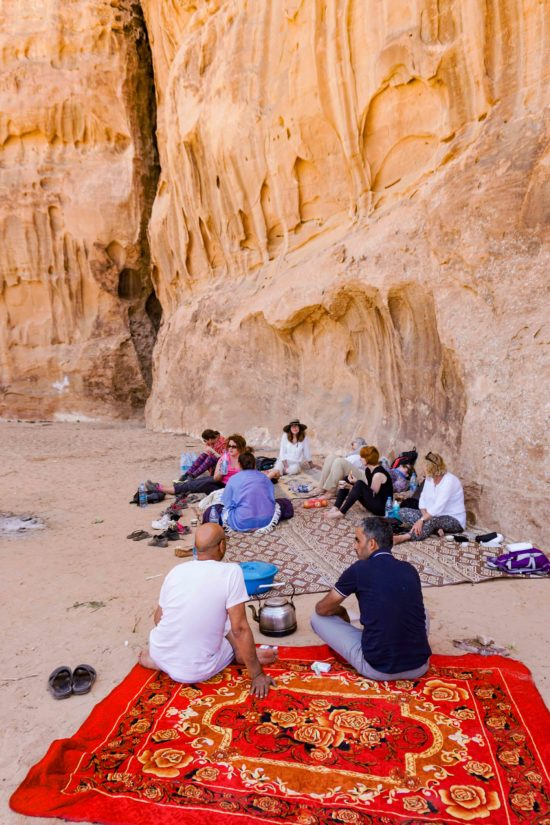 Jordan week guide Wadi Rum lunch