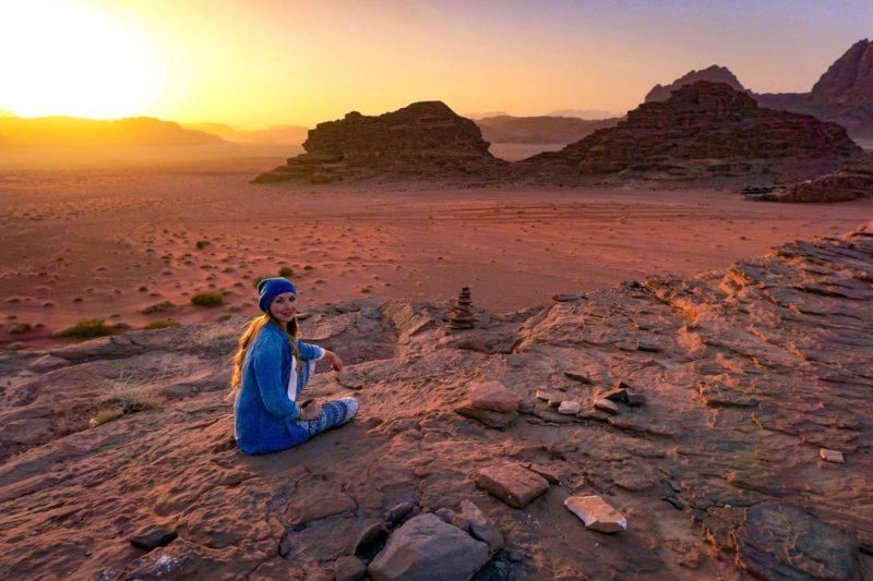 Jordan week guide Wadi Rum sunset