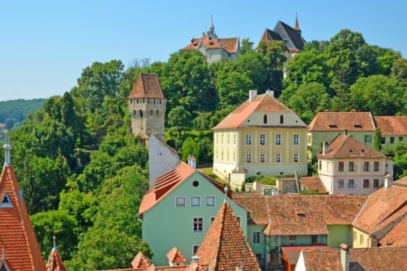 Sighisoara medieval city, Transylvania, Romania