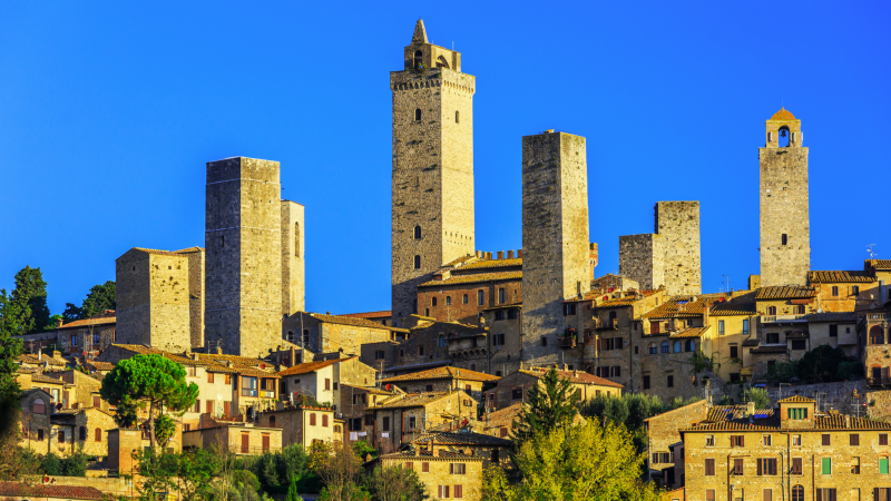 Medieval village of San Gimignano
