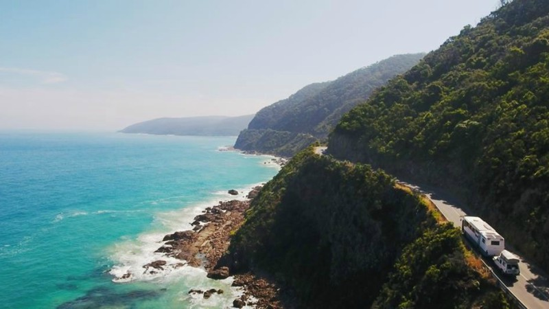 Driving down Queensland's tropical coast