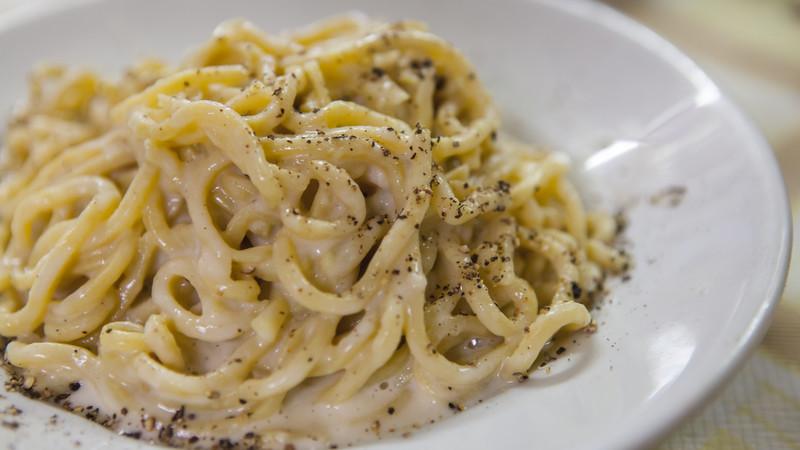 spaghetti Rome Italy photos