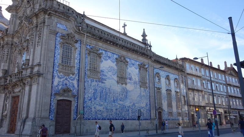 Portugal one week guide Porto tiles