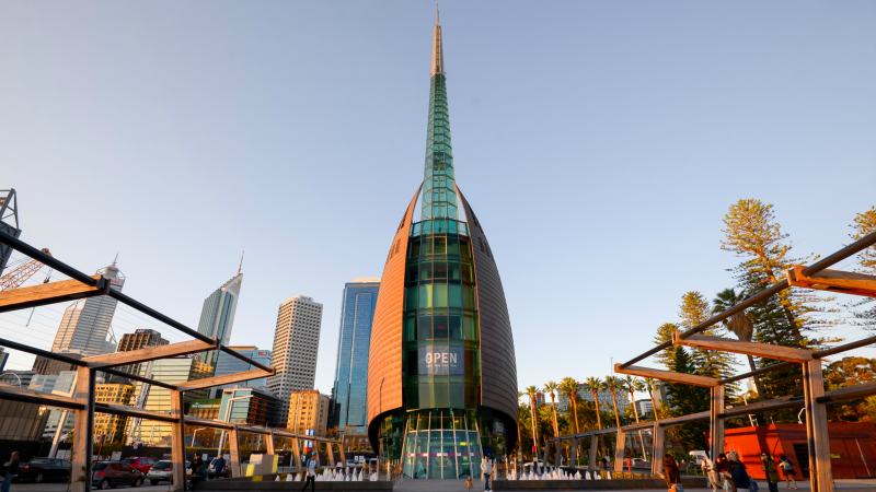 Perth Bell Tower, home to the Swan Bells