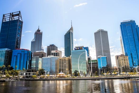 Perth's cityscape