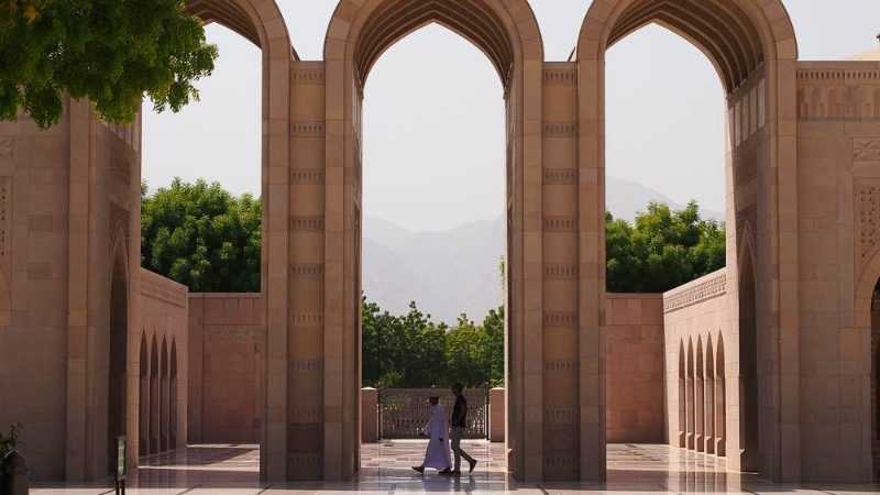The Grand Mosque in Oman