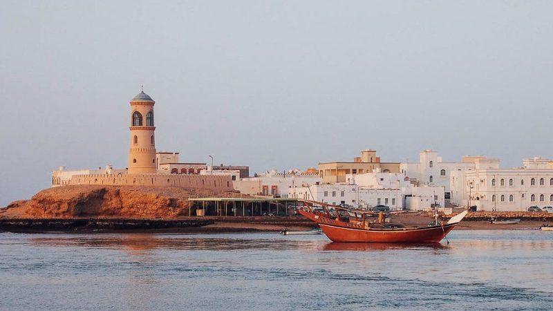 A boat in Sur, Oman.
