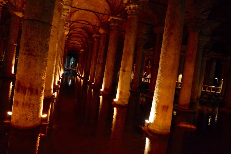 Basilica Cistern what to do in Istanbul