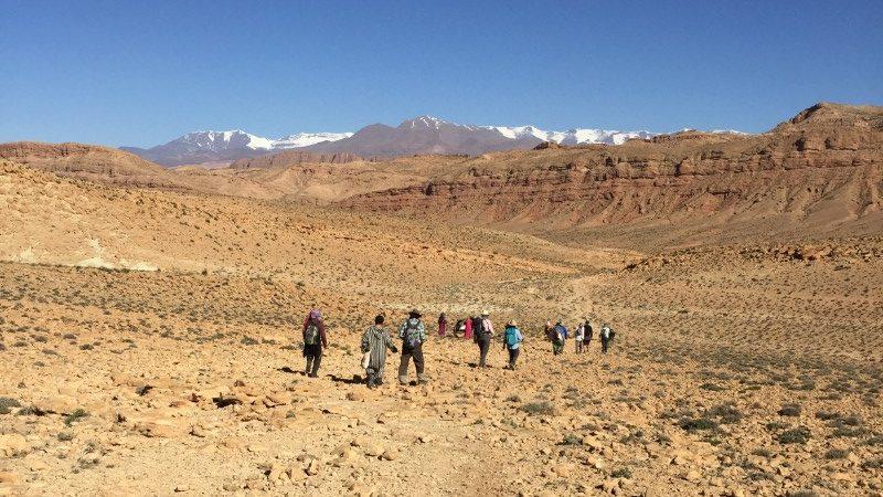 Morocco Berber trekking
