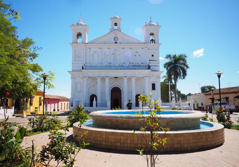 Suchitoto El Salvador Iglesía Santa Lucia