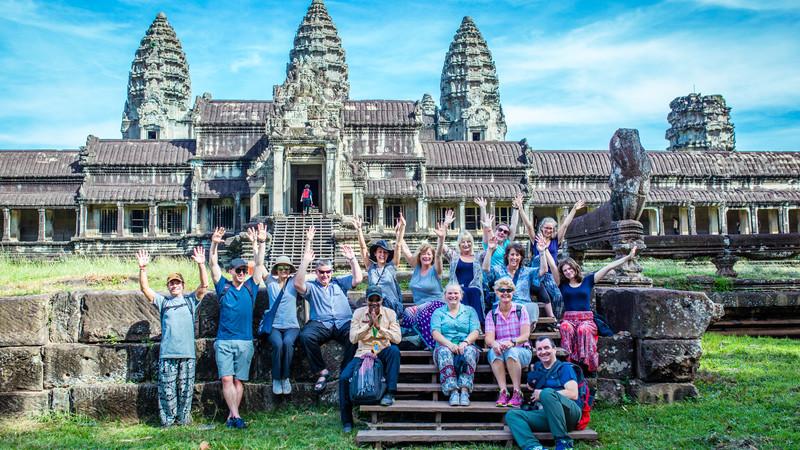 Cambodia tour Angkor Wat
