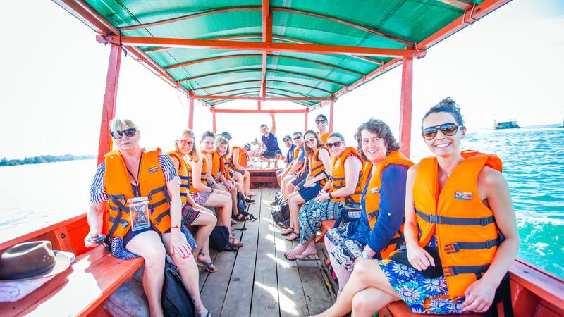 Cambodia tour Sihanoukville boat