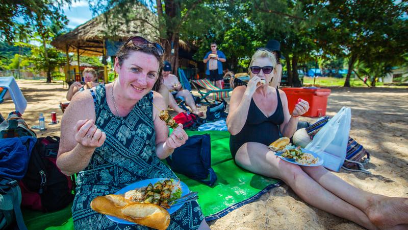 Cambodia tour Sihanoukville beach