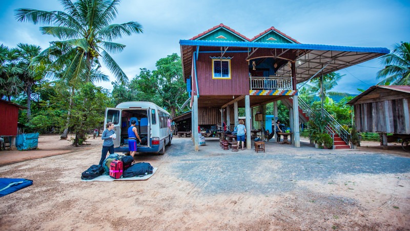 Cambodia tour Chambok homestay