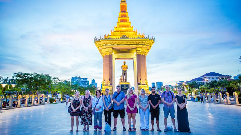 Cambodia tour Phnom Penh memorial