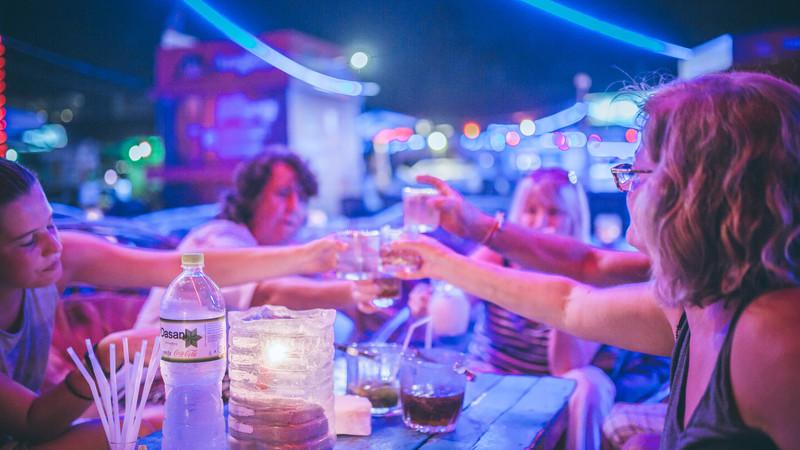 Cambodia tour drinks